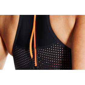 speedo Fit Neoprene Pro Swimsuit Women Black/Fluo Orange